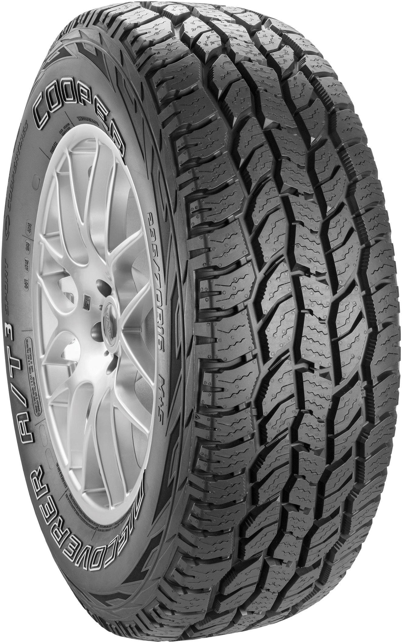Cooper DISCOVERER A/T3 SPORT 225/70 R15 DISCOVE RE R A/T3 SPO RT 100T OWL