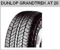 Dunlop GRANDTREK AT20 265/65 R17 GRANDTREK AT 20 112S TL