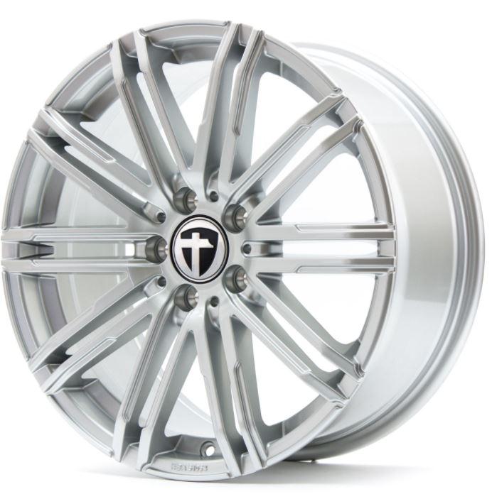 TOMASON TN18 Bright Silver 1260000001 TN18 8,0JX18 5X120X65,1 ET50 Bright Silver