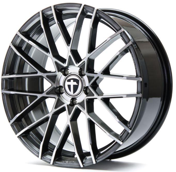 TOMASON TN19 Dark Hyper black polished 1280000005 TN19 8,5JX19 5X120X72,6 ET35 Dark Hyper black polished