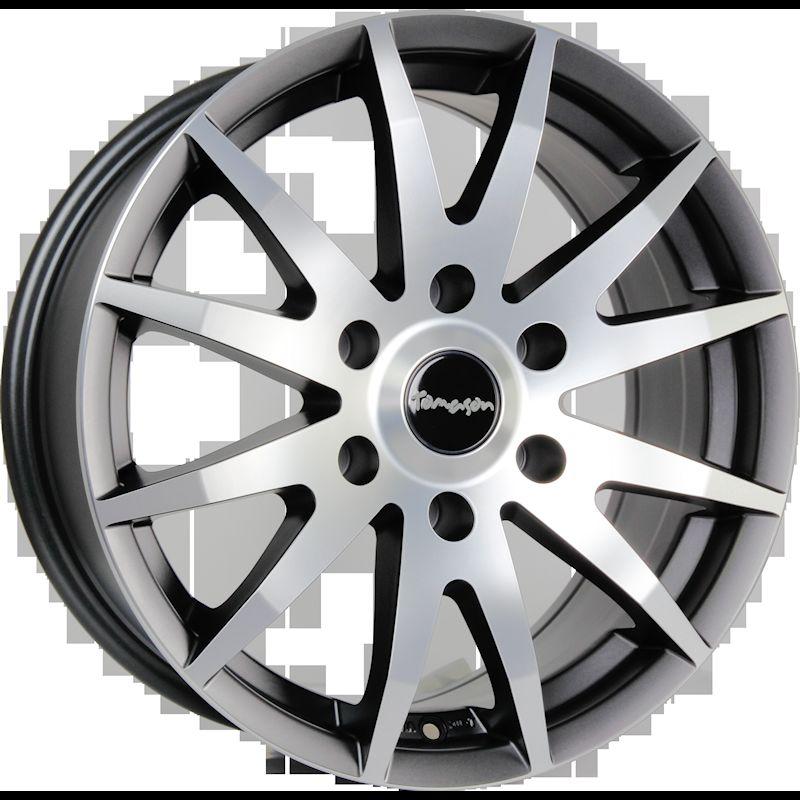 TOMASON TN1F gunmetal matt polished 1220000004 TN1F 6,5x16(5x130x89,1)60 Gunmetal matt polis