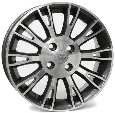 WSP Italy W150 VALENCIA ANTHRACITE RFI14555035AN W150 VALENCIA 5,5x14(4X098 58,135)ANT.POL FIAT
