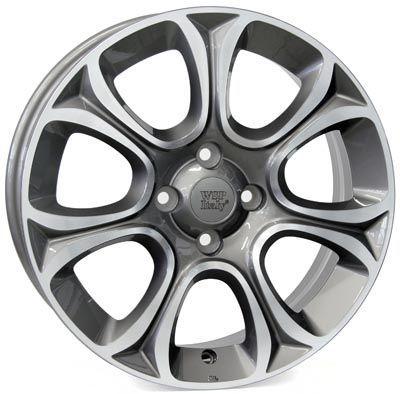 WSP Italy W163 EVO ANTHRACITE RFI15606239ENF W162 GRACE 6x15(5X098 58,139)ANT.POL FIAT