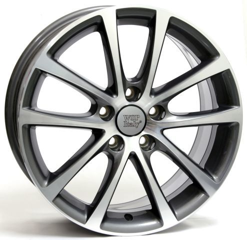 WSP Italy W454 EOS Riace ANTHRACITE W454 EOSRiace 6,5x16(5x112 57,1ET47)ANT.POL VOLKSWAGEN