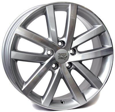 WSP Italy W460 Perla RVO16656050IDX W460 Rheia 6,5x16(5X112 57,150)SIL POL VW