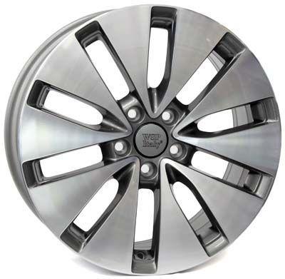 WSP Italy W461 ERMES ANTHRACITE RVO16656150INX W461 ERMES 6,5x16(5X112 57,150)ANT.POL VW