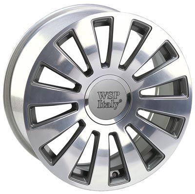 WSP Italy W535 A8 RAMSES ANTHRACITE RAU16703542JNB W535 A8 RAMSES 7x16(5X100/112 57,1ET37)ANT.POL AUDI QUATTRO