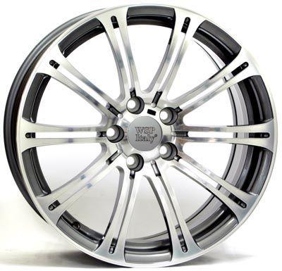 WSP Italy W670 M3 Luxor ANTHRACITE RBM20957037MNQ W670 M3 Luxor 9,5x20(5X120 72,6ET54)ANT.POL BMW