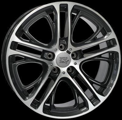 WSP Italy W677 X3 XENIA diamantová černá W677 X3XENIA 10x20(5x120 72,6ET51)DIA.BL.POL BMW