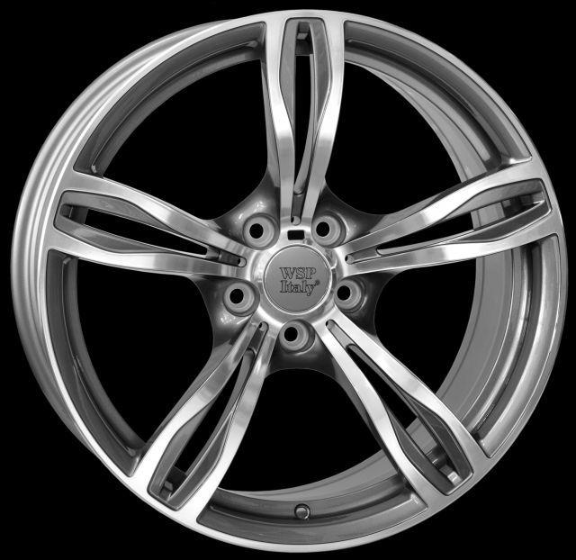 WSP Italy W679 DAYTONA M5 antracit RBM20107941MNQ W679 DAYTONA M5 10x20(5X120 72,641)ANT.POL BMW