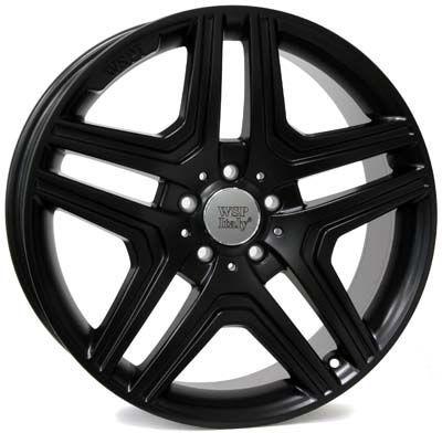 WSP Italy W766 AMG NERO matná černá RME21106656IYJ W766 AMG NERO 10x21(5X112 66,656)D.BLACK MERCEDES